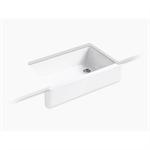 whitehaven® undermount single-bowl farmhouse kitchen sink