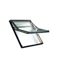 roto top-third pivot roof window designo r7 timber