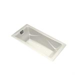 k-865-g0 tea-for-two® bubblemassage™ 6' bath with white airjet color