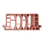 Hollow clay infill block 25 x 70 cm