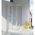 tipica a shower enclosure 80x80 transp.white