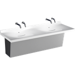 Z5003.02 Sundara™ Drift Handwashing System, Double Basin