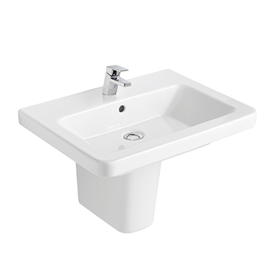 Street Square Washbasin 600x450 mm.