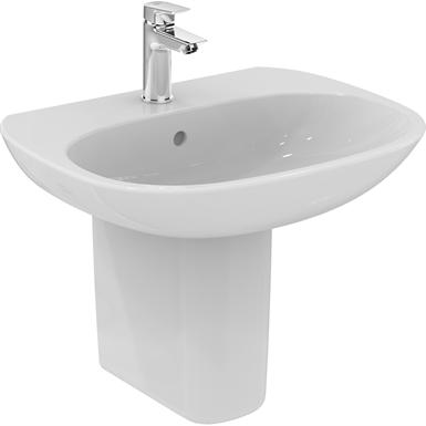 Tesi basin 60 white light design boxed ideal standard for Tesi design ideal standard