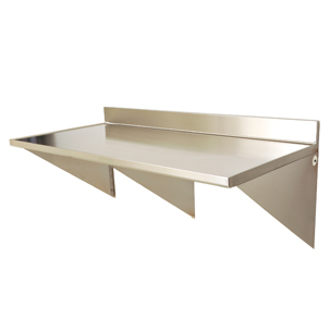 WALL MOUNTED STAINLESS STEEL TABLES (Eagle Group) | Free BIM object