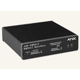 AXB-DMX512 Interface, Creates a Bi-directional DMX512-to-AxLink Connection, Transmitting and Receiving Up To 512 DMX Channels