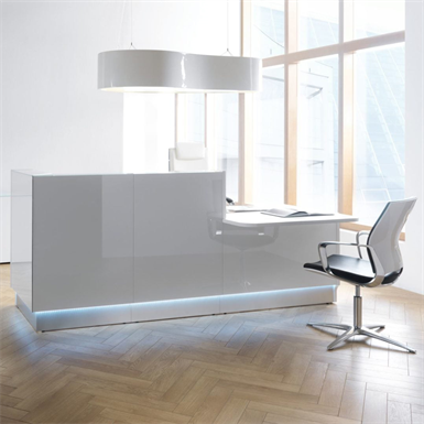 RECEPTION DESK LINEA low