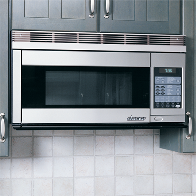 Discovery 30 Over The Range Convection Microwave Hood Black Stainless Steel