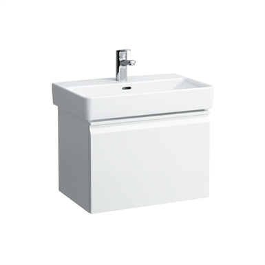 LAUFEN PRO S 550x370 Vanity unit, 1 drawer and interior drawer, incl. drawer organiser, matches washbasin 818959