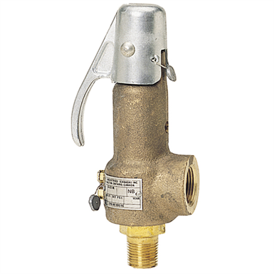 FIGURE 41 STEAM SAFETY RELIEF VALVES, ASME SECTION VIII (Watts