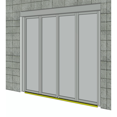 Folding Door, FFT Flexgreen Corridor Mount