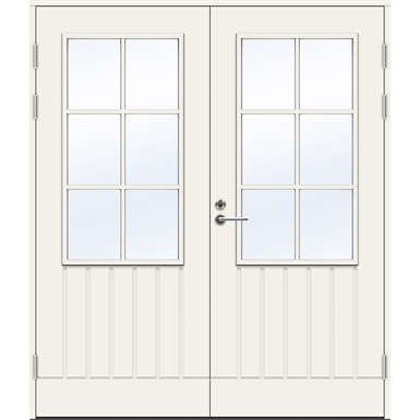 Exterior Door Balcony PO1894 W14 Double