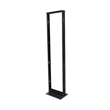 45U SmartRack 2-Post Open Frame Rack, 800-lb. Capacity - Organize and Secure Network Rack Equipment