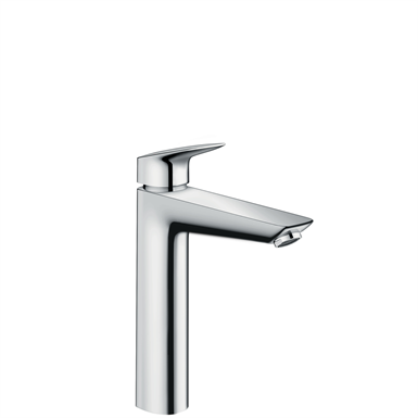 Logis Single lever basin mixer 190 with pop-up waste set 71090000