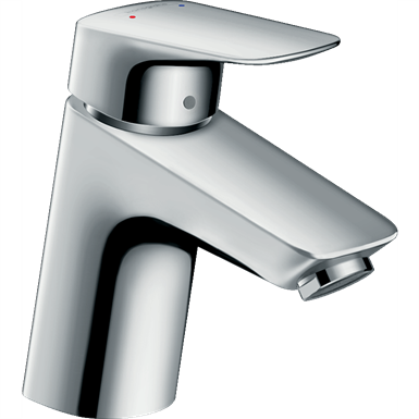 Logis Single lever basin mixer 70 with 2 flow rates with pop-up waste set 71075000
