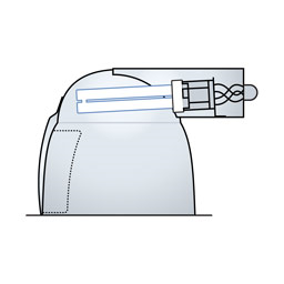 "6"" Double Lamp Cutaway CFL Wallwasher - WH6200"