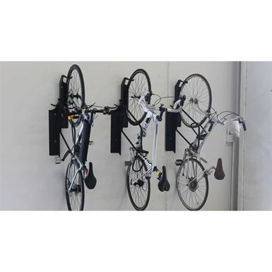 Vertical Bike Rack Wall Mounted Offset Bike Racks Ground