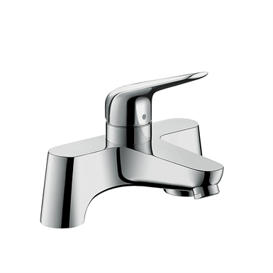 Novus 2-hole rim mounted bath mixer 71043000