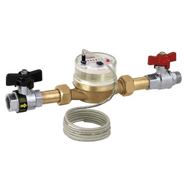 DOMESTIC WATER METER KIT (Caleffi) | Free BIM object for Revit
