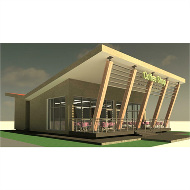 KINGS PARK COFFEE SHOP (BIMobject Model Repository) | Free BIM