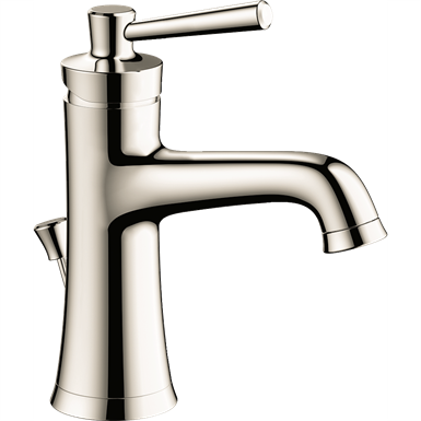 04773830 Joleena Single lever basin mixer 100 Eco with lever handle and pop-up waste set