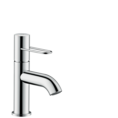 AXOR Uno Single lever basin mixer 70 with loop handle and waste set 38021000