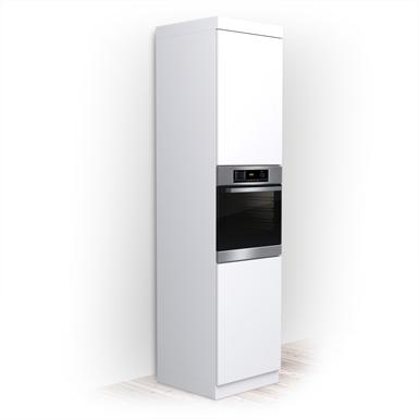 Kitchen Cabinet 60x60x240 Modern Line Elen Free Bim Object For