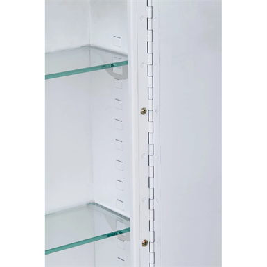 "Corner Series Polished Edge Medicine Cabinet - 14"" x 36"" Surface Mounted"