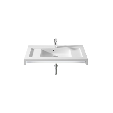 STRATUM 900 Wall-hung basin