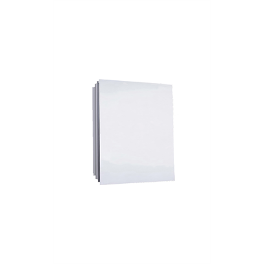 "Euroline Series Polished Edge Medicine Cabinet - 18"" x 24"" Partially Recessed Mounted"