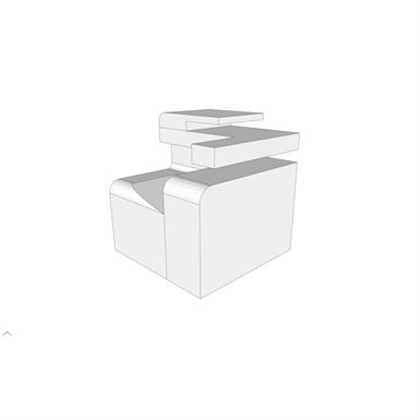 M1840 - PRINTER/COPIER/FAX COMBINATION (SEPS2BIM) | Free BIM object