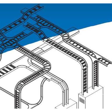 ALUMINUM CABLE TRAYS (Thomas & Betts) | Free BIM object for Revit