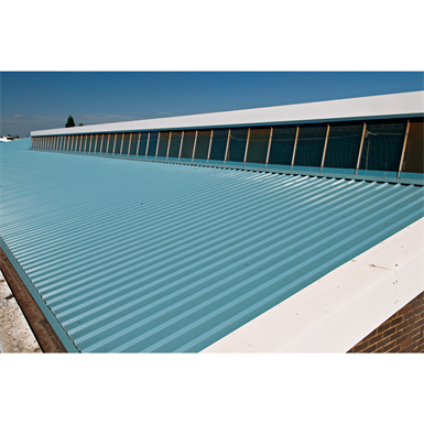 Trisobuild - Roof System - Built-up system of colorcoat profiled sheet with internal liner and insulation