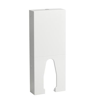 KARTELL BY LAUFEN 829664 Floorstanding cistern, two-part, water inlet on the right side or at the bottom