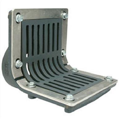 Z187 Fg Scupper Drain With Flush Grate Threaded Outlet Zurn Industries Free Bim Object For Revit Revit Bimobject