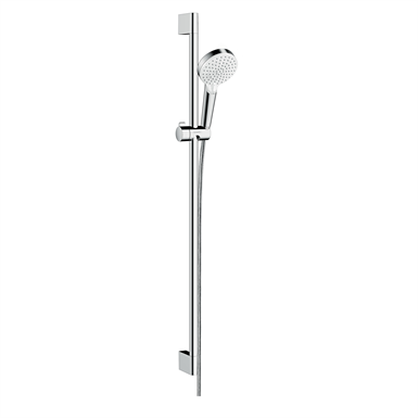 Crometta Shower set Vario EcoSmart 9 l/min with shower bar 90 cm 26538400