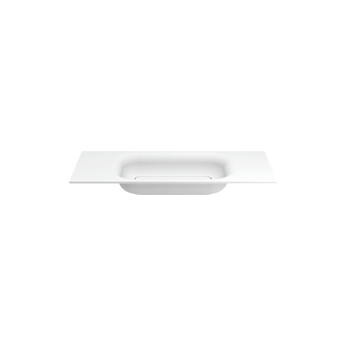 SMOOTH 1000 recessed washbasin for DIXIE/TAHOE cabinets (w/o tap hole)