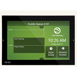 "RMBK-1001 10.1"" AMX RoomBook Scheduling Touch Panel"