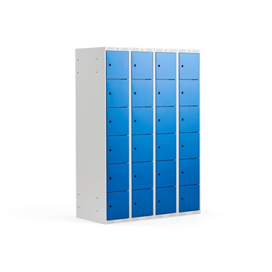 Compartment Locker Classic 1200mm 4 Sections 24 Doors