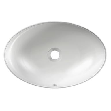 Vox Vasque Ovale à Encastrer Par Dessous 562 X 392 Cm Avec Trou