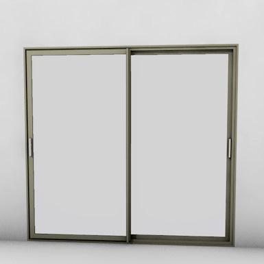 aluminum window sliding window snfa objetos bim. Black Bedroom Furniture Sets. Home Design Ideas