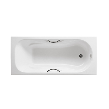 MALIBU 1700x700 Bath w/ antislip base and grips