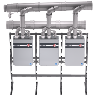 COMMERCIAL CONDENSING TANKLESS - INDOOR (Rheem Manufacturing Company