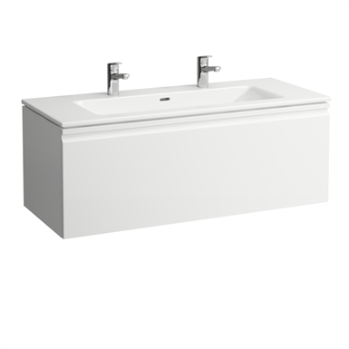 LAUFEN PRO S Combination of washbasin with vanity unit 1200 mm, with one drawer