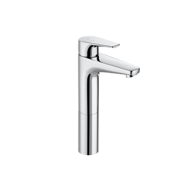 ATLAS High-neck and smooth body basin mixer, Cold Start