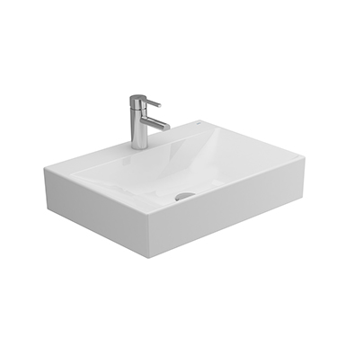 ALBUS Over-counter Wash-basin 60x45 cm.