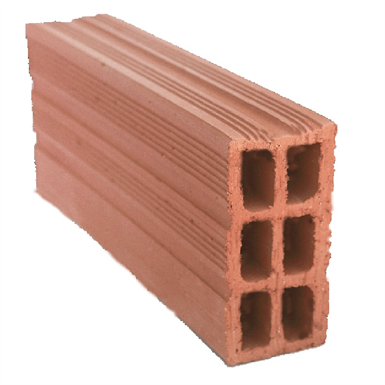 Double Hollow Clay Brick 32 cm