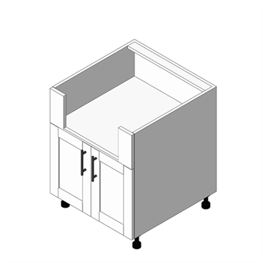Appliance Cabinet Standard Burner Base - Pairs: (OBB)