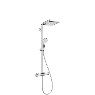 Crometta E Showerpipe 240 1jet EcoSmart 9 l/min with thermostat 27281000