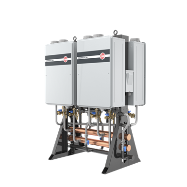 Commercial Tankless System - Free Standing
